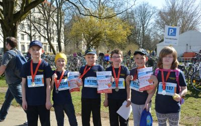 Kinderfeuerwehr Stöcken nimmt am HAJ Marathon teil
