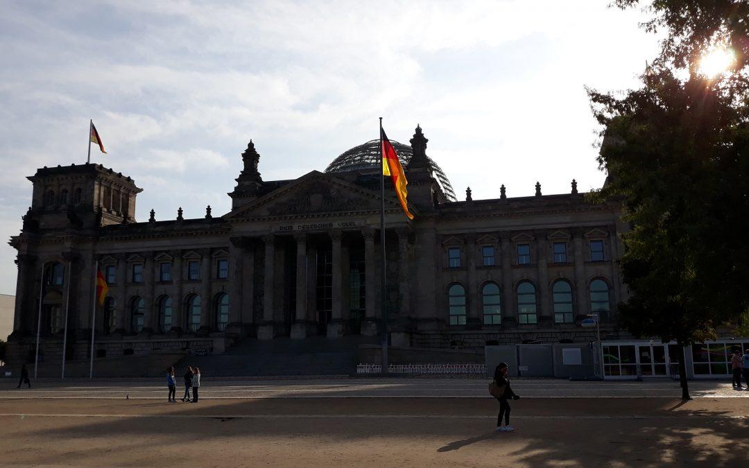 Stadtjugendfeuerwehr Hannover auf Besuch in der Bundeshauptstadt