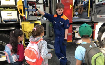 Jugendfeuerwehr Davenstedt beim Weltkindertag