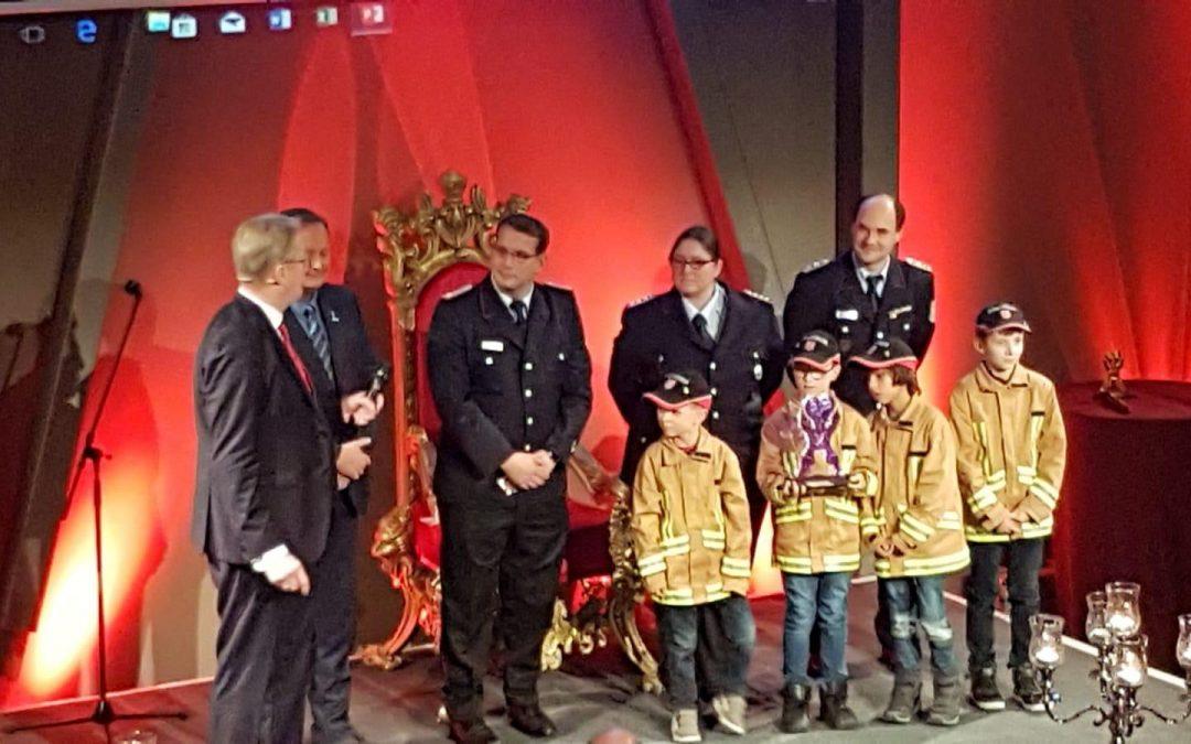 """Besondere Auszeichnung für Kirchrodes """"Mini"""" Brandschützer"""